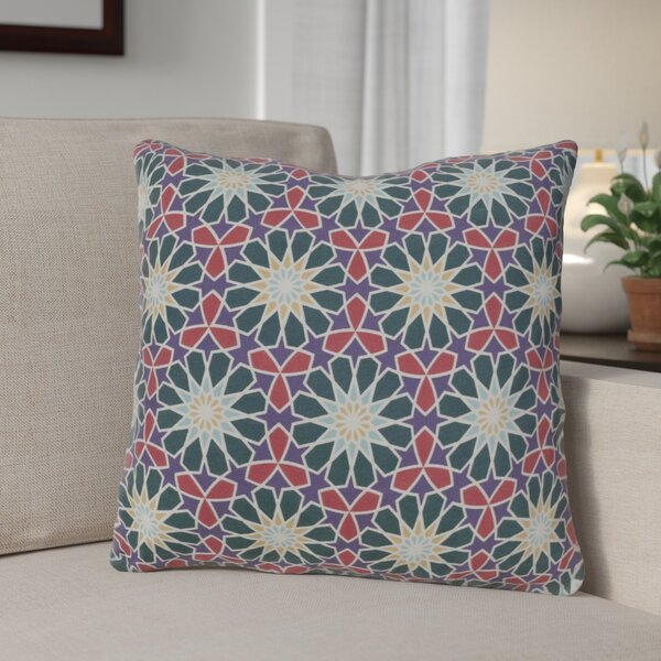 Neiman 100% Cotton Throw Pillow by Andover Mills